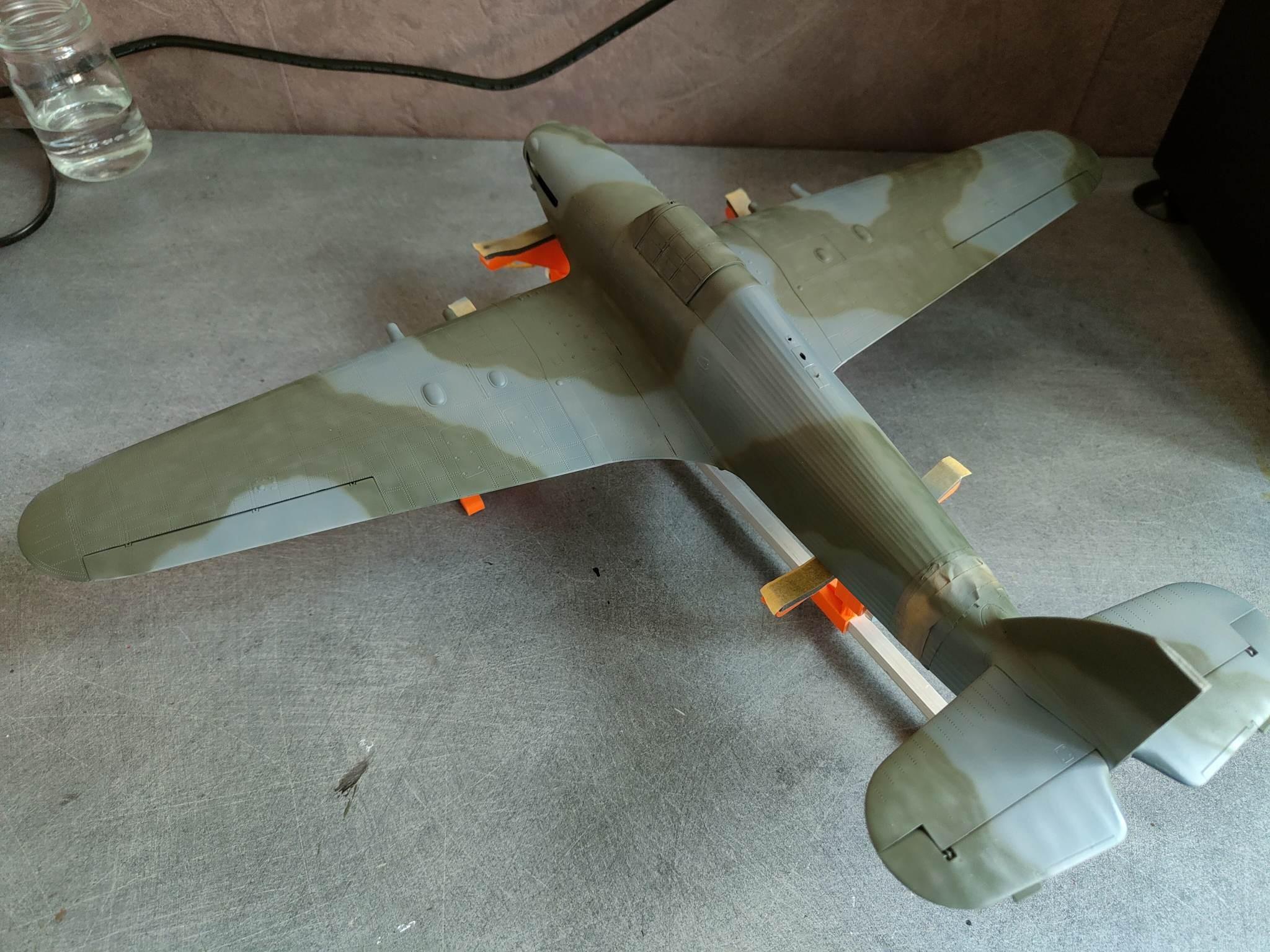 Avro-Anson 1/72éme en  1948 en Afrique du Nord